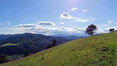 Słowacja - widok na Tatry