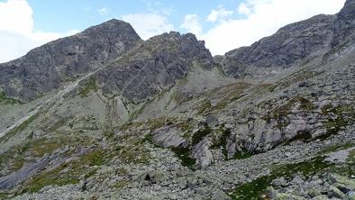 Szlak z Przełęczy Świnickiej  - Kościelec