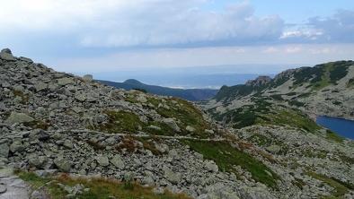 Szlak z Przełęczy Świnickiej